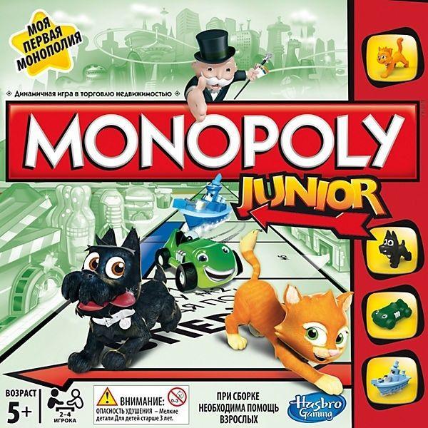 Настольная игра Hasbro Монополия Junior