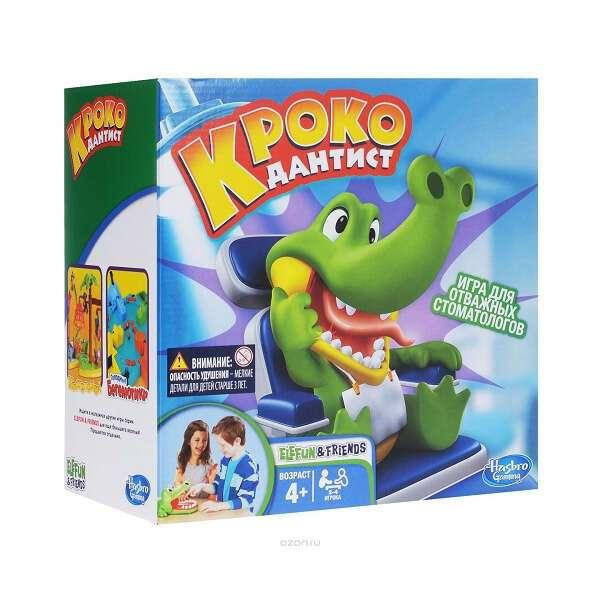 Игра Hasbro Крокодантист (B04081211)