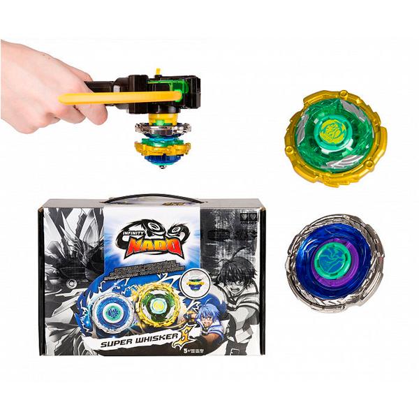 Игровой набор Infinity Nado Волчок Крэк, Super Whisker, 36063 (YW624701)