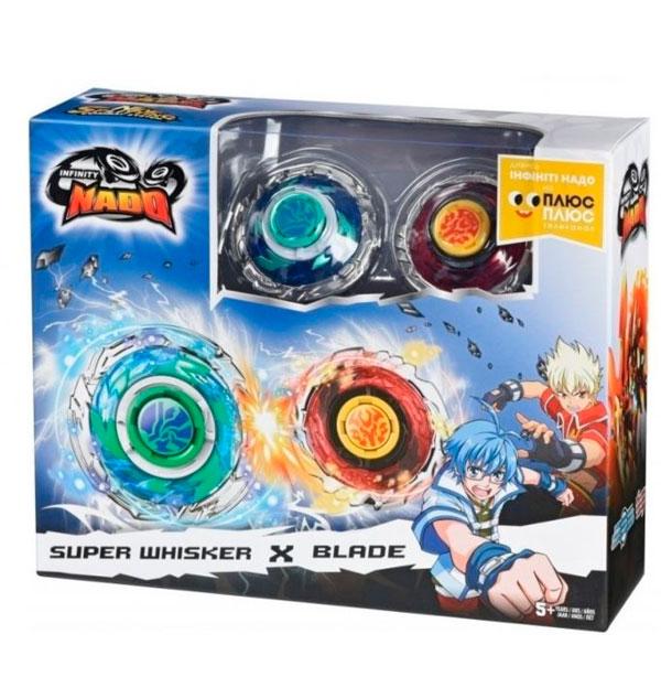 Игровой набор Infinity Nado Двойной набор Super Whisker & Blade