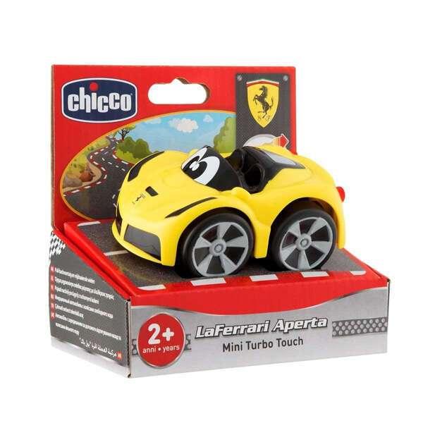 Машинка Turbo Touch Mini LaFerrari Chicco 2г+