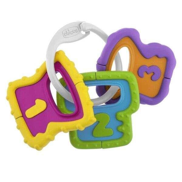 Погремушка Easy Grasp Ключи Chicco 3м+
