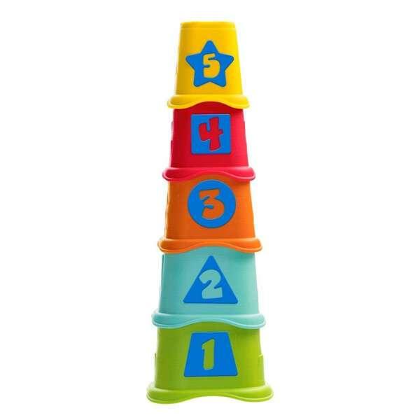 Развивающая игрушка Пирамидка Stacking Cups Chicco 6м+