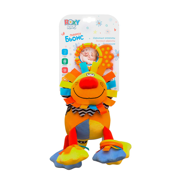 Развивающая игрушка ROXY-KIDS Лев Ру-Ру RBT 20016