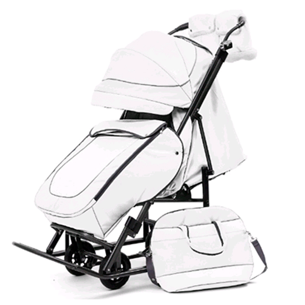 Коляска прогулочная Pikate Deluxe White (Н410761)