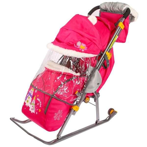 Санки-коляска Nika kids Ника детям 6. Снеговик (3821120)