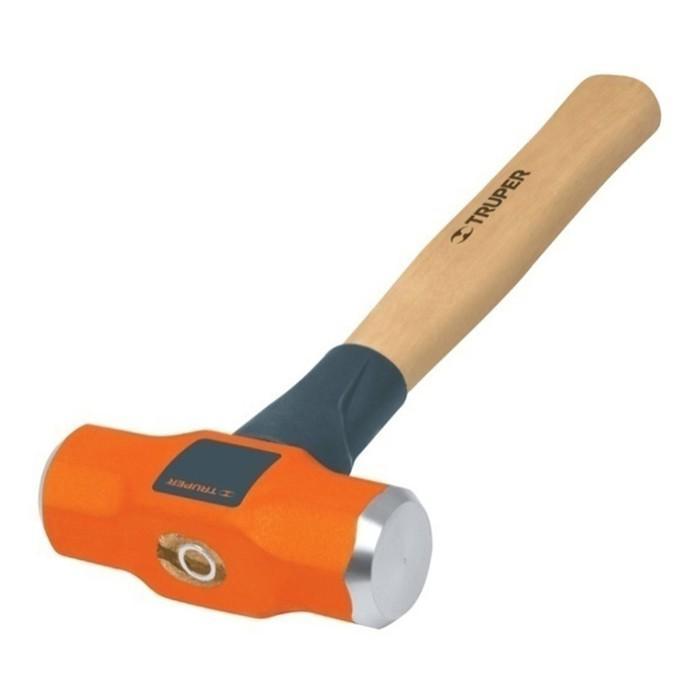 Молоток инженерный TRUPER MD-2M,  0.9 кг, деревянная ручка 30 см, антишоковый наконечник