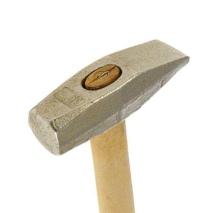 """Молоток слесарный """"Горизонт"""", 1 кг, с квадратным бойком"""