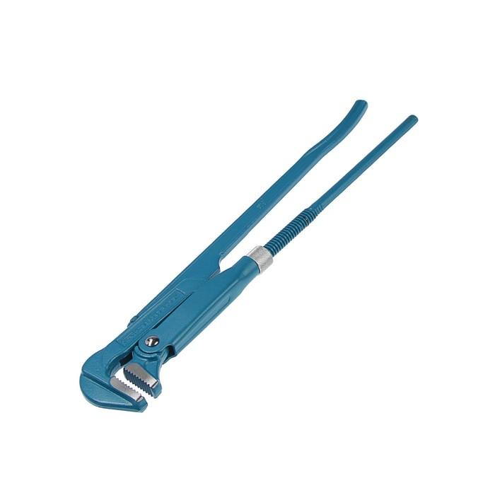 """Ключ трубный """"СИБРТЕХ"""", рычажный, №2, 20-50 мм, 90°, прямые губы"""