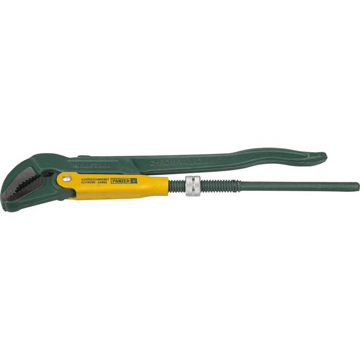 Ключ трубный KRAFTOOL 2735-20_z01, рычажный, изогнутые губки, цельнокованный, 580 мм, №4