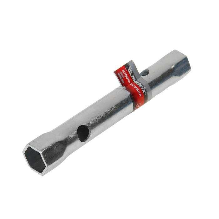 Ключ-трубка торцевой MATRIX, 17 х 19 мм, оцинкованный