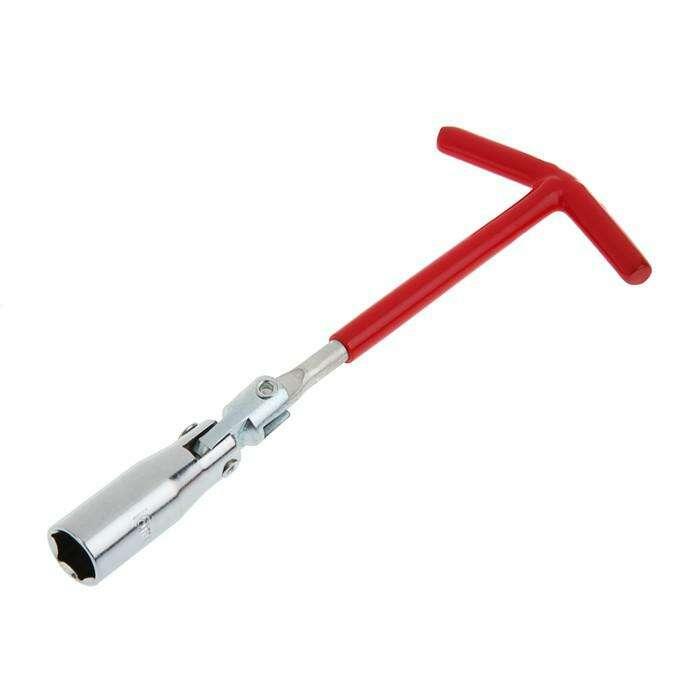 Ключ свечной LOM, с карданным шарниром, 16 мм