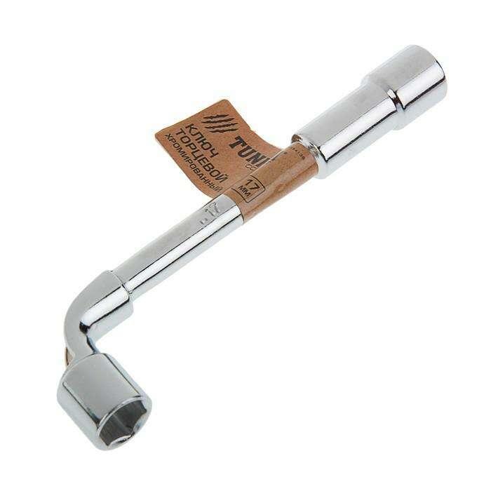 Ключ торцевой Г-образный TUNDRA, 17 мм