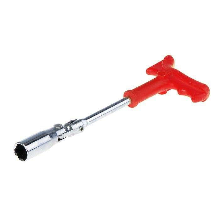 Ключ свечной TUNDRA basic, с карданным шарниром, 16 мм