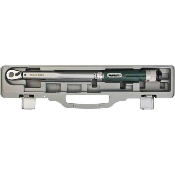 "Ключ динамометрический KRAFTOOL 64053-100, со шкалой, точность +/- 4%, 3/8"", 20 - 100 Нм"