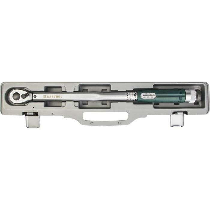 "Динамометрический ключ KRAFTOOL 64054-200, со шкалой, точность +/- 4%, 1/2"", 40 - 200 Нм"
