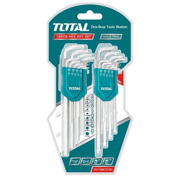 Набор ключей Total THT106KT0181