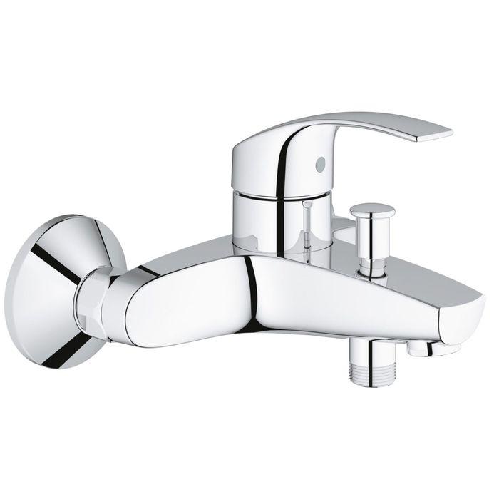Смеситель для ванны GROHE Eurosmart 2015, настенный монтаж
