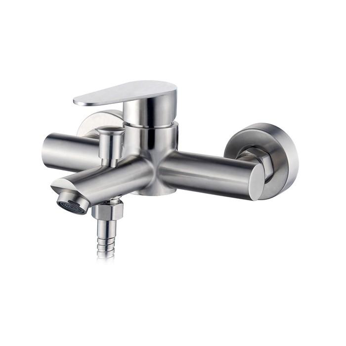 Смеситель для ванны Esko Chicago CG 54, с коротким изливом, без аксессуаров, цвет хром