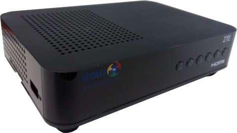 Цифровой эфирный приемник OTAU TV ZTE DVB-T2/DVB-T2 (ZXV10 B710)