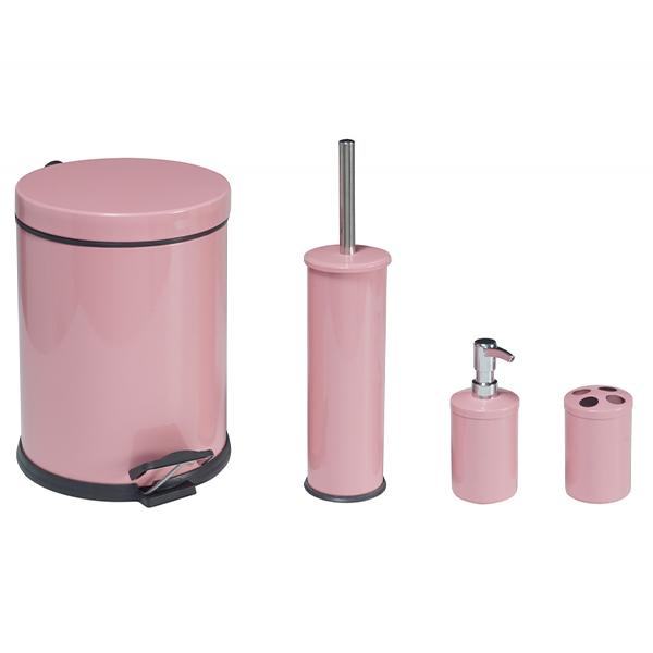 Набор для ванной Perilla 17013 (розовый)