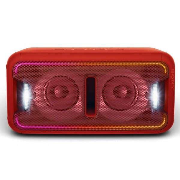 Музыкальный центр Sony GTK-X7/RC (красный)
