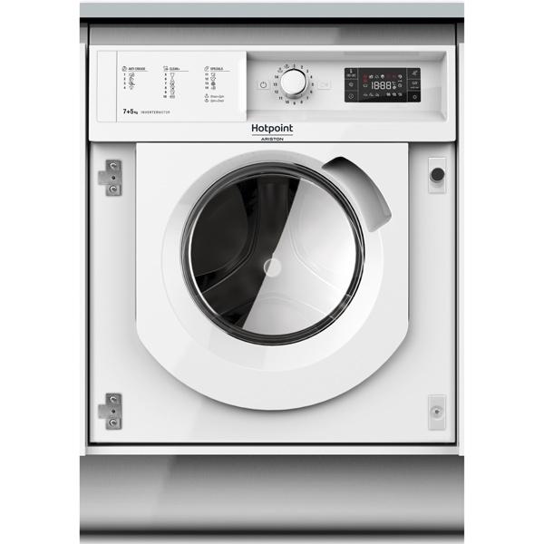 Встраиваемая стирально-сушильная машина Hotpoint-Ariston BI WDHG 75148 EU