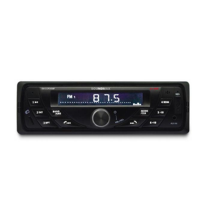 Автомагнитола Soundmax SM-CCR3058F 1din