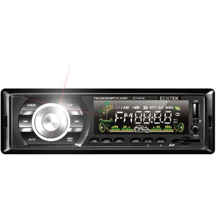 Автомагнитола Centek MP3/WMA CT-8110