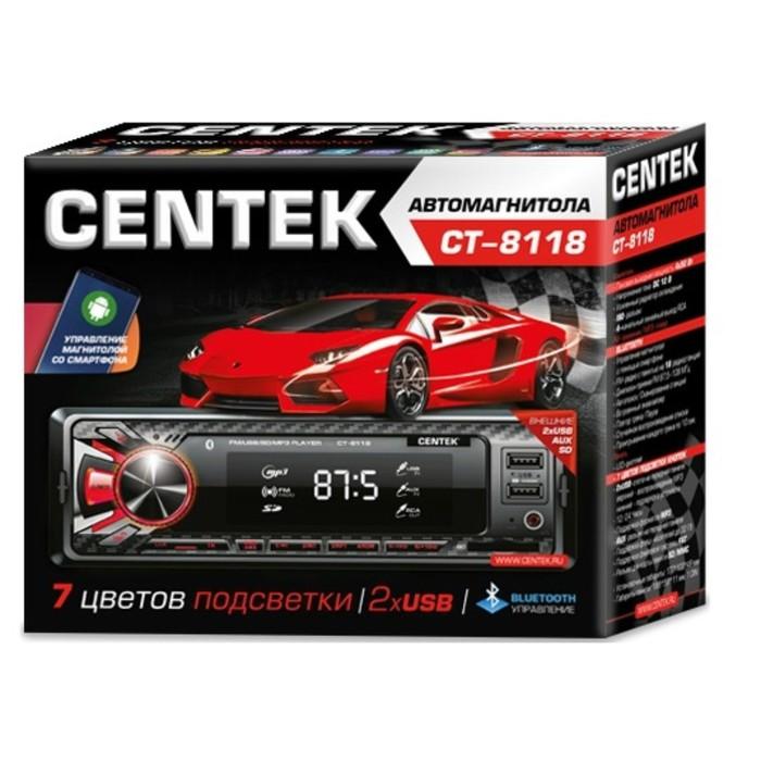 Автомагнитола Centek CT-8118