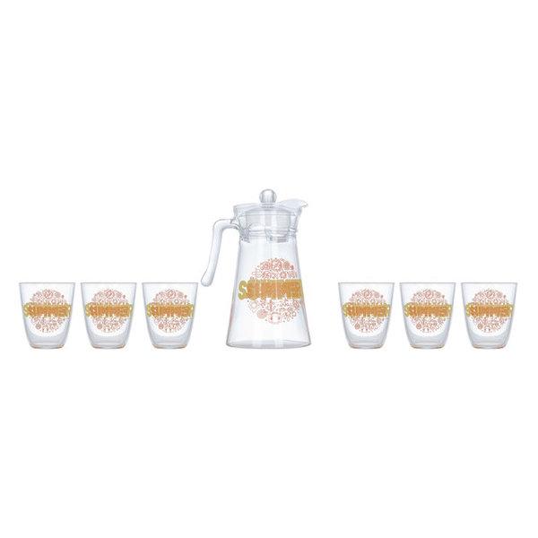 Питьевой набор Luminarc Neo+Kone Hello Summer 7 пр. (P-5537)
