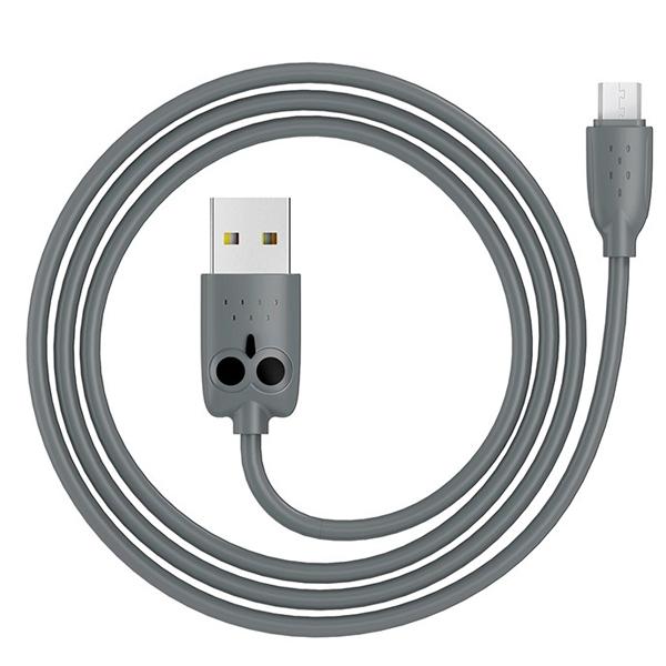 Кабель Hoco KX1 Kikibelief Micro USB Gray