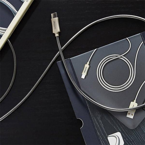 Дата-кабель Deppa Metal USB - Type-C