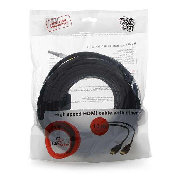 кабель HDMI Cablexpert v2.0 19M/19M CC-HDMI4-10M