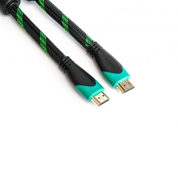 Видeo кабель PowerPlant HDMI - HDMI, 3m, позолоченные коннекторы, 2.0V, Double ferrites, Highspeed KD00AS1249
