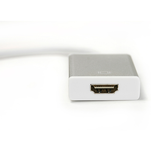 Кабель-переходник PowerPlant HDMI female - USB Type-C, 0.15м KD00AS1272