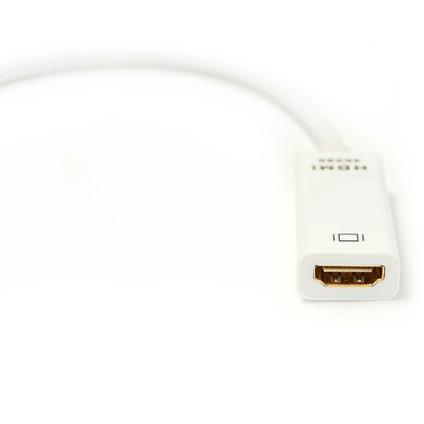 Кабель-переходник PowerPlant HDMI - mini DisplayPort, 0.15м, 1.4V KD00AS1279
