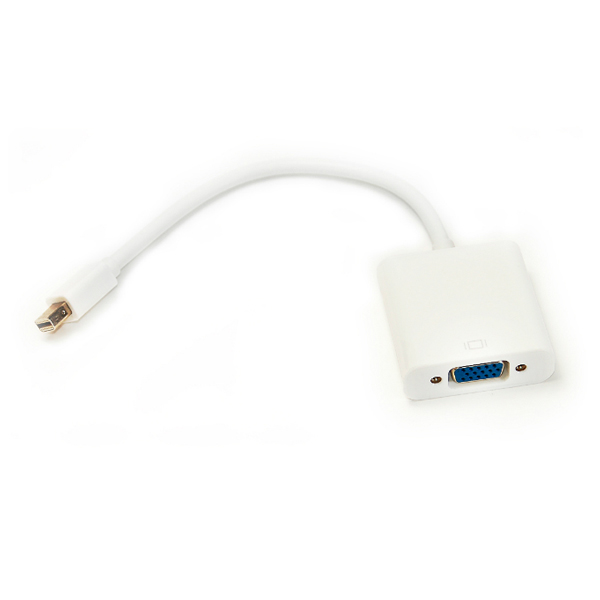 Кабель-переходник PowerPlant Mini DisplayPort - VGA, 0.15м KD00AS1281