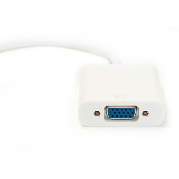 Кабель-переходник PowerPlant Mini DisplayPort - VGA, 0.15м KD00AS1281