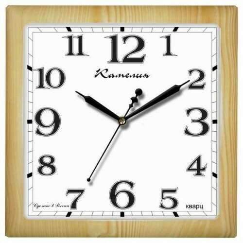 "Часы настенные Камелия ""Сосна, квадрат"" 9918148"