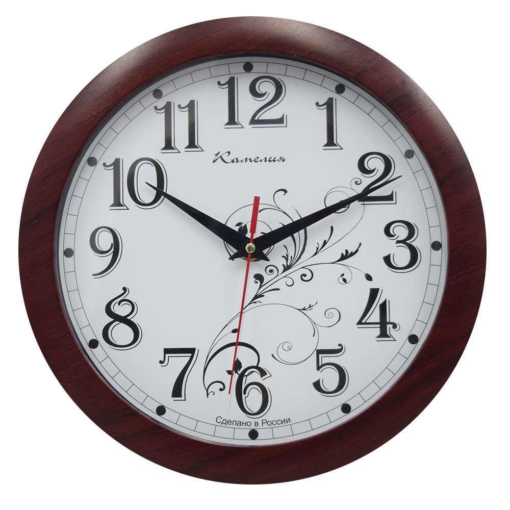"""Часы настенные Камелия """"Классика с узором 2"""" 4208053"""