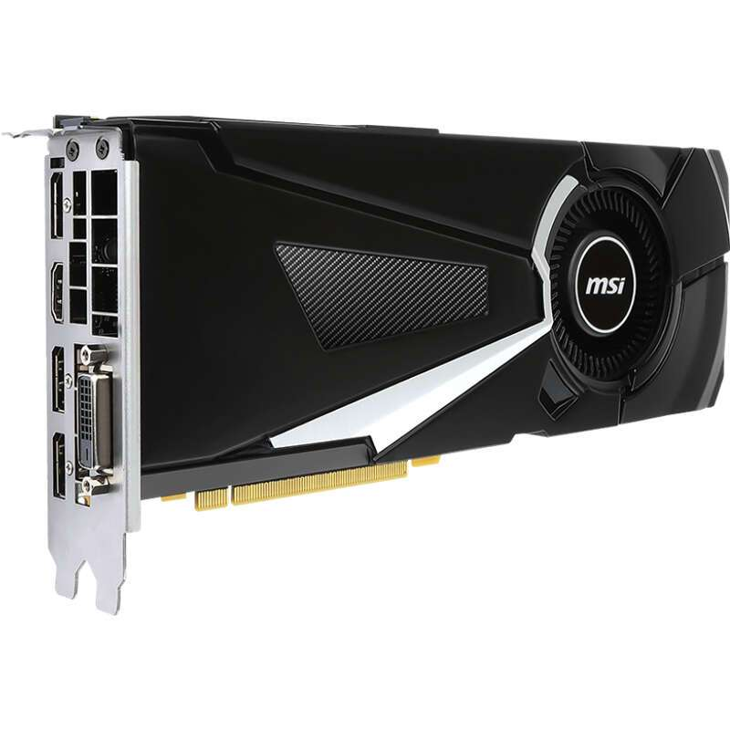 Видеокарта MSI GeForce GTX 1070 Ti AERO 8G