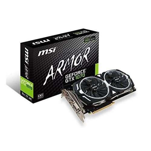 Видеокарта MSI GeForce GTX 1070 ARMOR