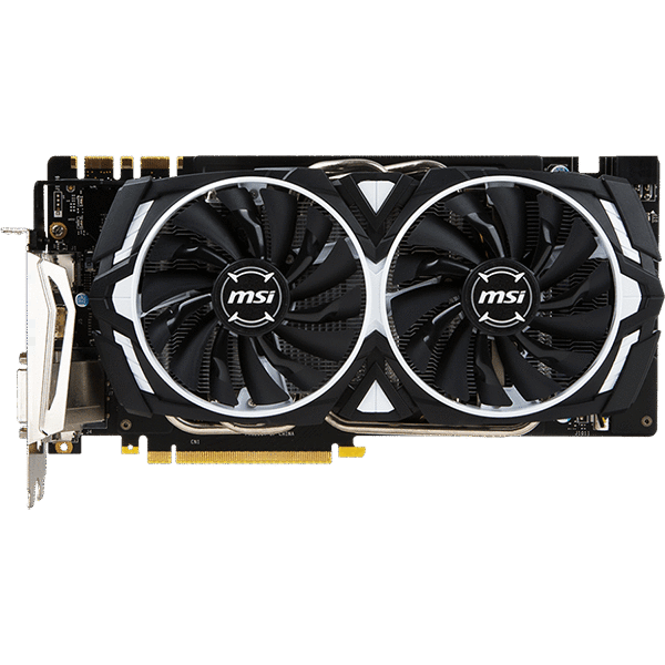 Видеокарта MSI GeForce GTX 1070 ARMOR