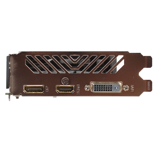 Видеокарта Gigabyte GTX1050Ti OC 4GB (GV-N105TOC-4GD) DVI, HDMI, DP