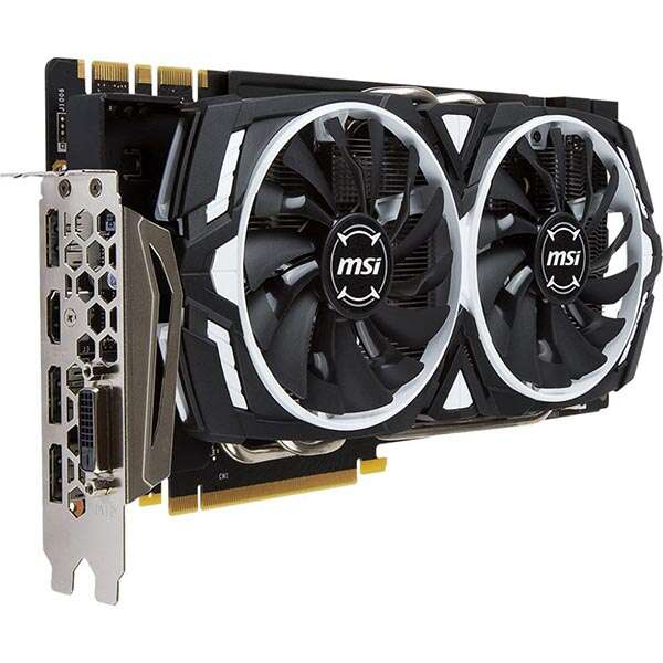 Видеокарта MSI GeForce GTX 1070 Ti ARMOR
