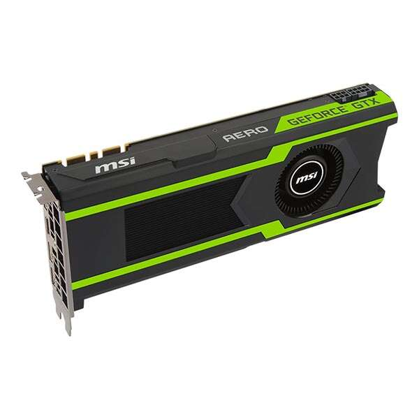 Видеокарта MSI GeForce GTX 1080 Ti AERO 11G OC