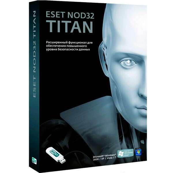 Антивирус ESET NOD32 Titan 3ПК, 12 мес.