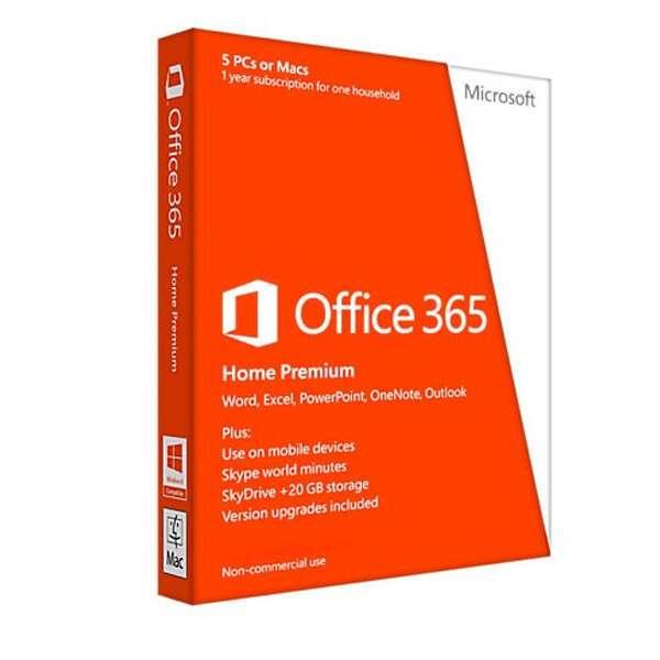 Облачное програмное обеспечение Microsoft Office 365 Home Prem (32/64)