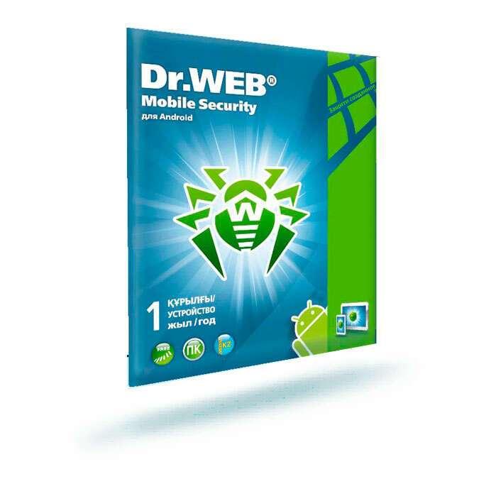 Антивирус Dr.Web Mobile Security на 1 пользователя, 12 мес.